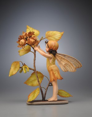 R. John Wright-The Hazel Nut Fairy