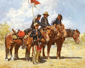 Howard Terpning-ARMY REGULATIONS