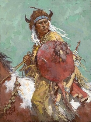 Howard Terpning-Cheyenne Red Shield
