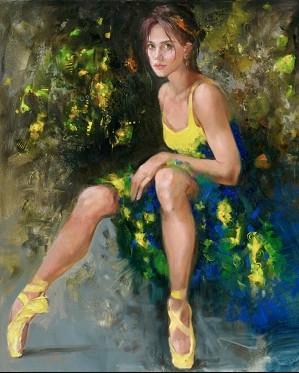 Irene Sheri-Balerina Yellow Pointe
