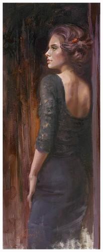 Irene Sheri-Black Dress