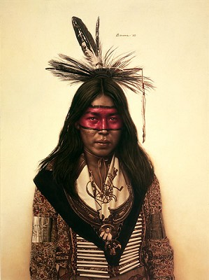 James Bama-Young Indian Dancer