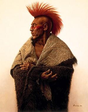 James Bama-The Pawnee