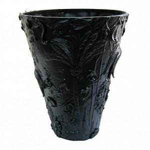 Franz Porcelain-Vase, Extraordinary Garden (black)