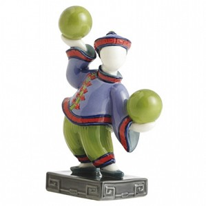 Franz Porcelain-Figurine, Bei Boy w/ ball