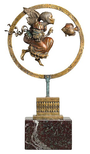 James Christensen-Benediction LIMITED EDITION BRONZE