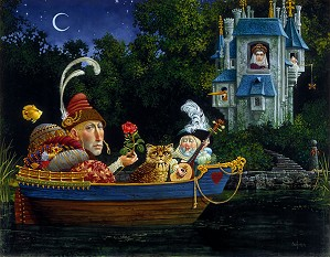 James Christensen-Courtship