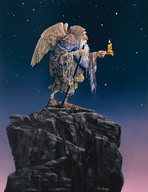 James Christensen-The Oldest Angel ANNIVERSARY EDITION ON