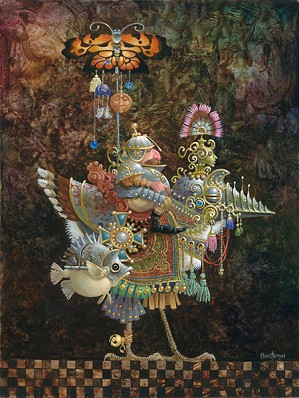 James Christensen-Butterfly Knight SMALLWORK EDITION ON