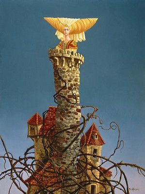 James Christensen-Princess in the Tower