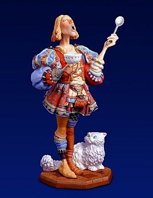 James Christensen-Tommy Tucker Porcelain Figurine