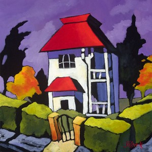 Jill Charuk-On The Corner Limited Edition Canvas
