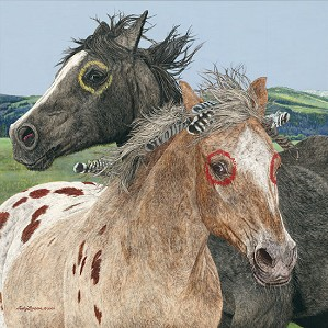 Judy Larson-Ebenezer and the War Horse