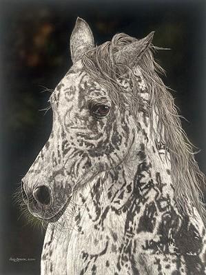 Judy Larson-American Horse Limited Edition