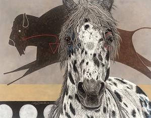 Judy Larson-The Buffalo Tipi