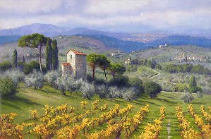 June Carey-Above Florence
