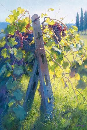 June Carey-Imported Vines