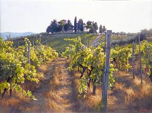 June Carey-Villa Cafaggio