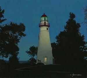 John Weiss-The Lighthouse Keeper