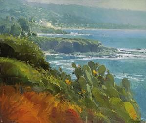 Ken Auster-Coastal Cactus MASTERWORK EDITION ON