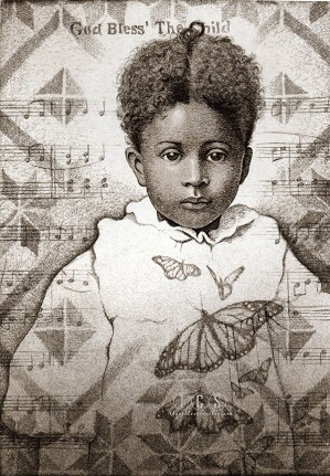 Keith Mallett-God Bless The Child Remarque