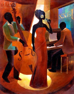 Keith Mallett-In A Sentimental Mood Giclee