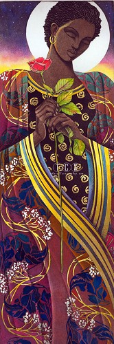 Keith Mallett-The Rose