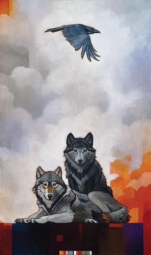 Craig Kosak-Druid Alphas with Raven
