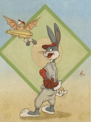 Mike Kupka-Bugs Bunny Baseball Bugs