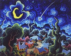 Kim Wiggins-Star Light Limited Edition Canvas