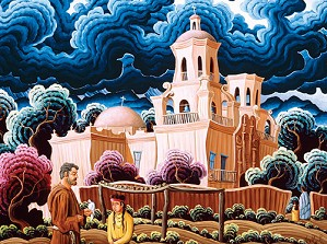 Kim Wiggins-White Dove Of The Desert Limited Edition Canvas