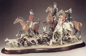 Lladro-Fox Hunt