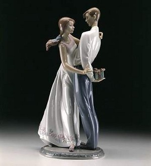 Lladro-Love's Little Surprises