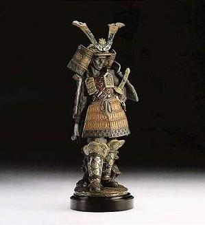 Lladro-Samurai
