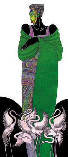 Charles Bibbs-Ebony Series 8 - Green Limited Edition