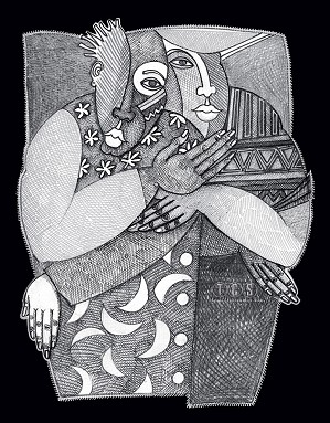 Charles Bibbs-Being With You Giclee