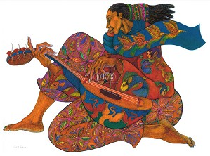 Charles Bibbs-The Music Maker 2 -  Giclee