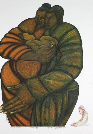 Charles Bibbs-New Life - Artist Proof
