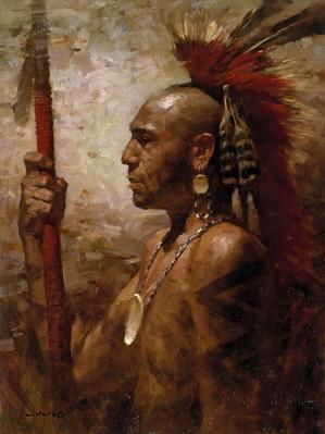 Z.S.  Liang-Pequot Warrior
