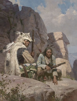 Z.S.  Liang-Observers Above Fort Phil Kearny 1868