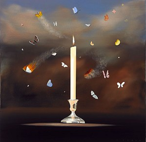 Robert Deyber-Like Moths To A Flame