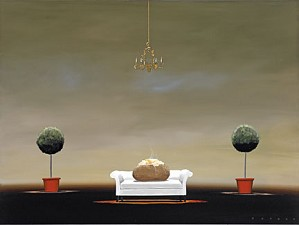 Robert Deyber-The Couch Potato
