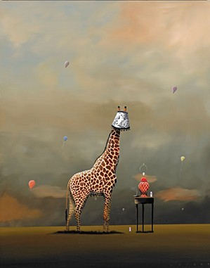 Robert Deyber-Party Animal Giraffe