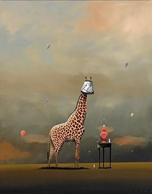 Robert Deyber-Party Animal Giraffe