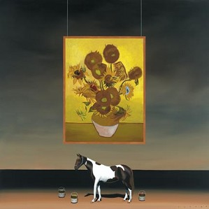 Robert Deyber-Paint Horse Van Gogh
