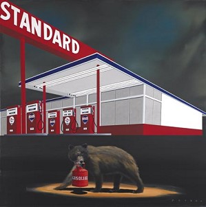 Robert Deyber-The Standard Bear