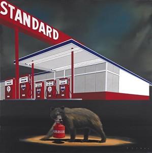 Robert Deyber-The Standard Bear