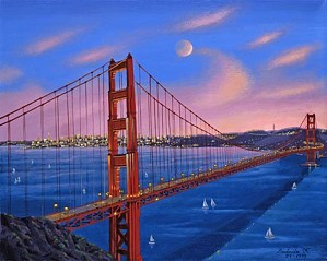Liudmila Kondakova-Golden Gate