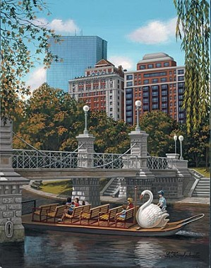 Liudmila Kondakova-Swan Ferry Boston