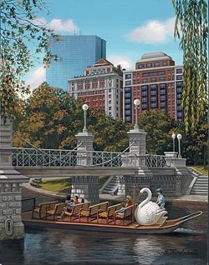 Liudmila Kondakova-Swan Ferry Boston